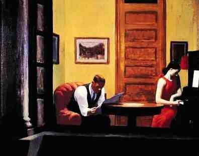 Edward Hopper Room In New York Analyse